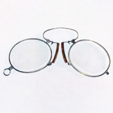 new cork & steel pince-nez